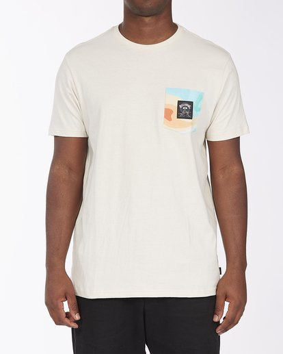 2 Desert Trip Short Sleeve T-Shirt Red ABYZT00406 Billabong