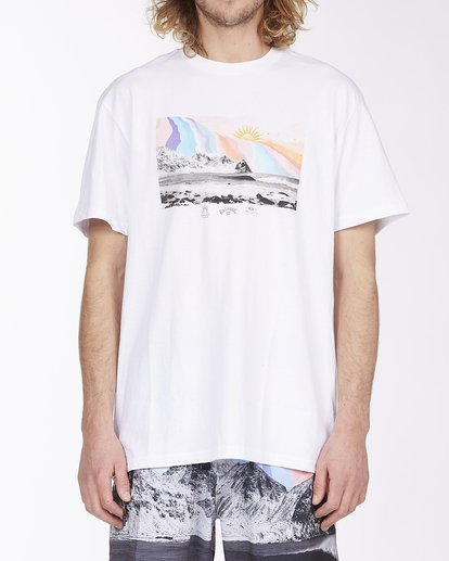 0 Expansion Short Sleeve T-Shirt White ABYZT00407 Billabong