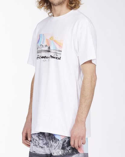 1 Expansion Short Sleeve T-Shirt White ABYZT00407 Billabong