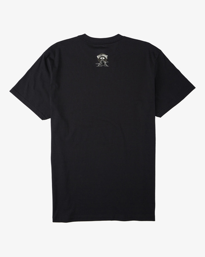 4 Line Short Sleeve T-Shirt Black ABYZT00409 Billabong