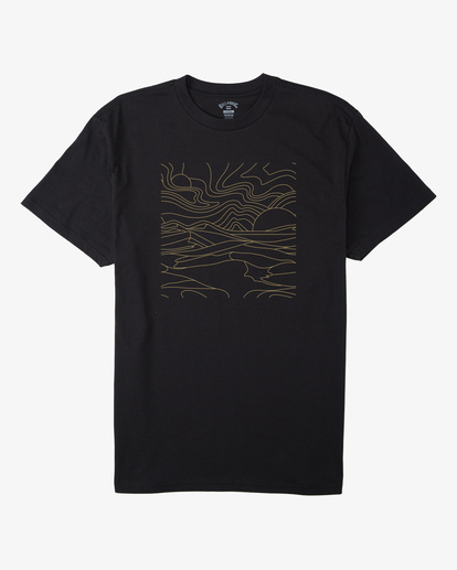 3 Line Short Sleeve T-Shirt Black ABYZT00409 Billabong