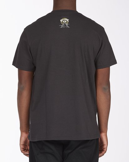 2 Line Short Sleeve T-Shirt Black ABYZT00409 Billabong
