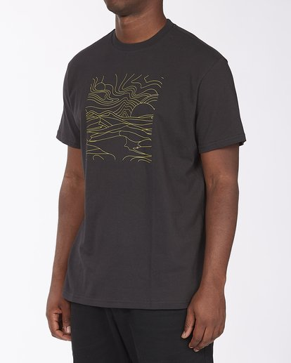 1 Line Short Sleeve T-Shirt Black ABYZT00409 Billabong