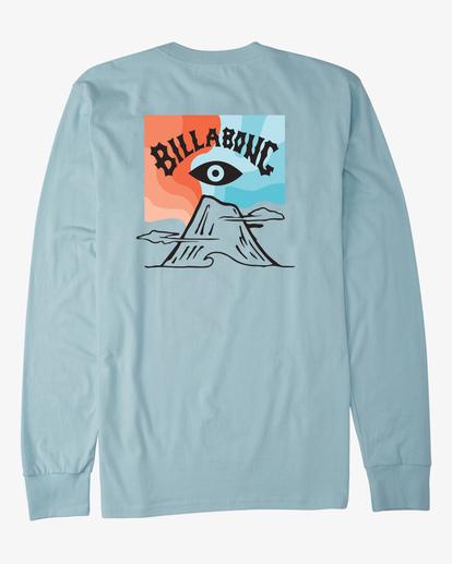 4 Eyesolation Arch Long Sleeve T-Shirt Blue ABYZT00411 Billabong