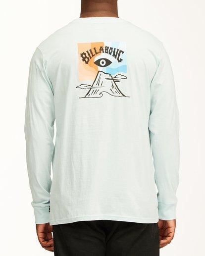 2 Eyesolation Arch Long Sleeve T-Shirt Blue ABYZT00411 Billabong