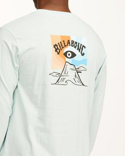 3 Eyesolation Arch Long Sleeve T-Shirt Blue ABYZT00411 Billabong