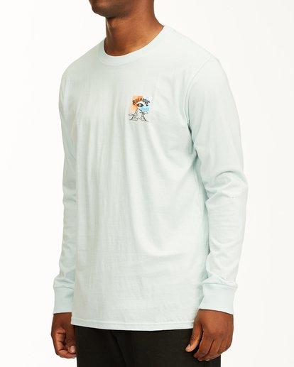 1 Eyesolation Arch Long Sleeve T-Shirt Blue ABYZT00411 Billabong