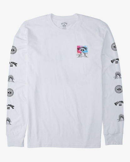 4 Eyesolation Long Sleeve T-Shirt White ABYZT00412 Billabong