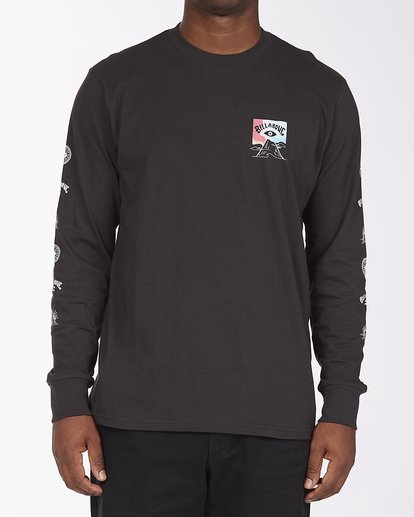 0 Eyesolation Long Sleeve T-Shirt Black ABYZT00412 Billabong