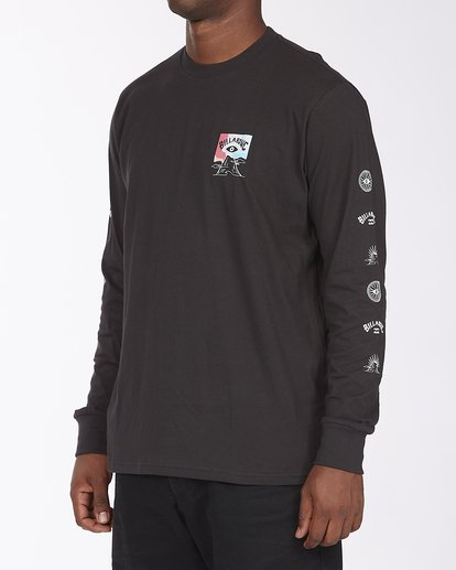 1 A/Div Eyesolation Long Sleeve T-Shirt Black ABYZT00412 Billabong