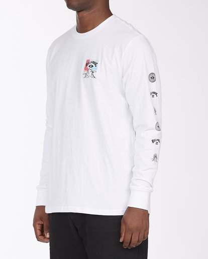 1 Eyesolation Long Sleeve T-Shirt White ABYZT00412 Billabong