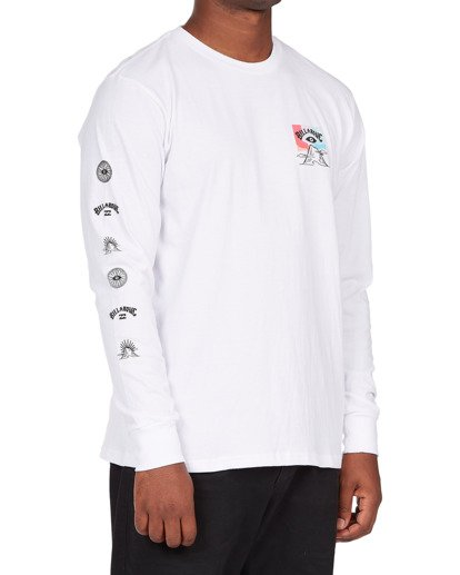 2 Eyesolation Long Sleeve T-Shirt White ABYZT00412 Billabong