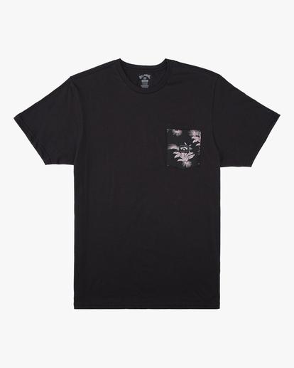 4 Team Pocket T-Shirt Black ABYZT00508 Billabong