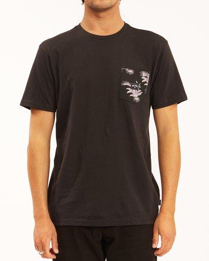 0 Team Pocket T-Shirt Black ABYZT00508 Billabong