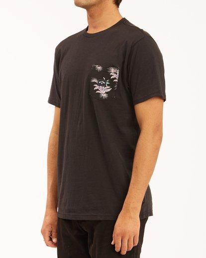 1 Team Pocket T-Shirt Black ABYZT00508 Billabong