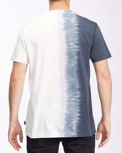 2 Arch Wave Tie-Dye Short Sleeve T-Shirt White ABYZT00511 Billabong