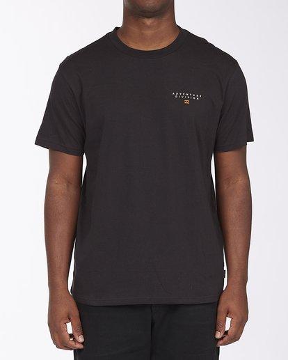 0 A/Div Lines Short Sleeve T-Shirt Black ABYZT00541 Billabong