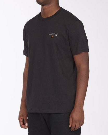 1 A/Div Lines Short Sleeve T-Shirt Black ABYZT00541 Billabong