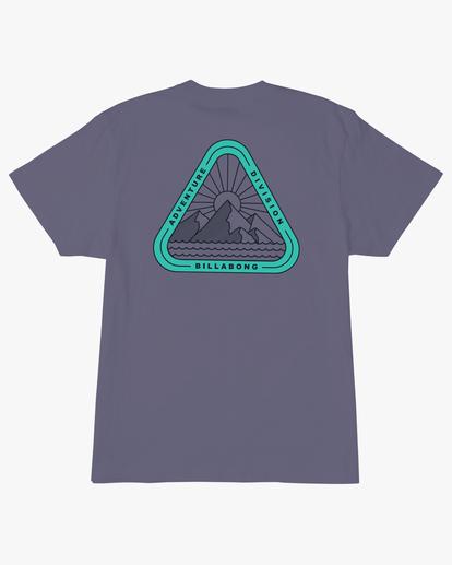 6 A/Div Sawtooth Short Sleeve T-Shirt Purple ABYZT00542 Billabong