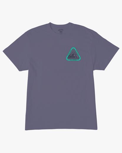 5 A/Div Sawtooth Short Sleeve T-Shirt Purple ABYZT00542 Billabong
