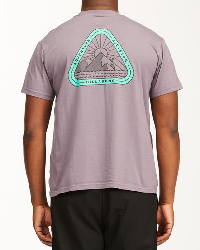 2 A/Div Sawtooth Short Sleeve T-Shirt Purple ABYZT00542 Billabong