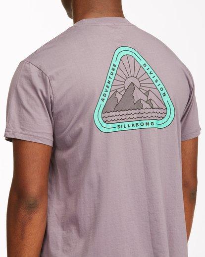3 A/Div Sawtooth Short Sleeve T-Shirt Purple ABYZT00542 Billabong