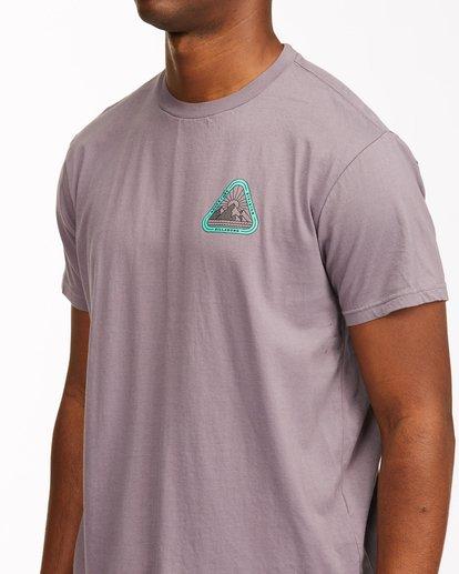 4 A/Div Sawtooth Short Sleeve T-Shirt Purple ABYZT00542 Billabong