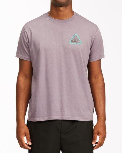 0 A/Div Sawtooth Short Sleeve T-Shirt Purple ABYZT00542 Billabong