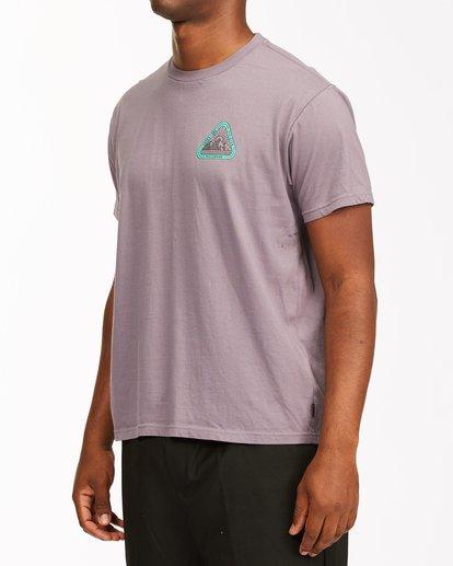 1 A/Div Sawtooth Short Sleeve T-Shirt Purple ABYZT00542 Billabong
