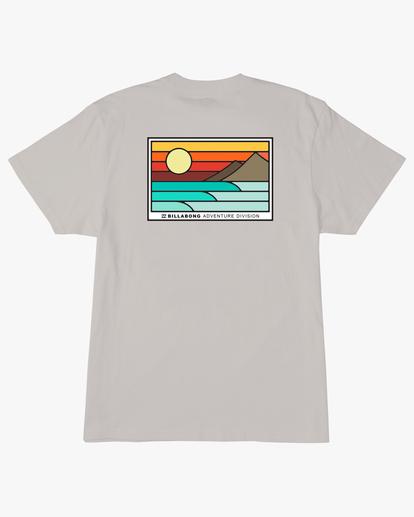 6 A/Div Prospect Short Sleeve T-Shirt Red ABYZT00543 Billabong