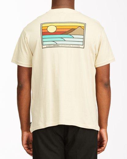 2 A/Div Prospect Short Sleeve T-Shirt Red ABYZT00543 Billabong