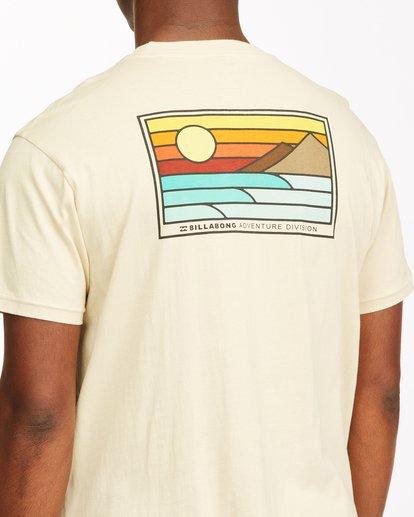 3 A/Div Prospect Short Sleeve T-Shirt Red ABYZT00543 Billabong
