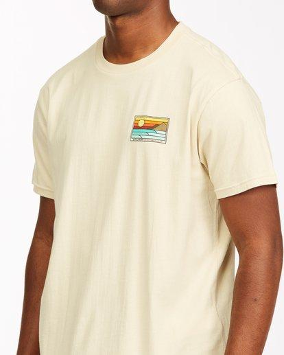 4 A/Div Prospect Short Sleeve T-Shirt Red ABYZT00543 Billabong