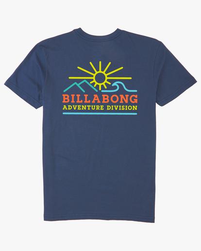 6 Hills Short Sleeve T-Shirt Blue ABYZT00544 Billabong