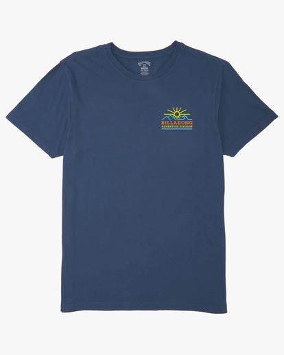 5 Hills Short Sleeve T-Shirt Blue ABYZT00544 Billabong