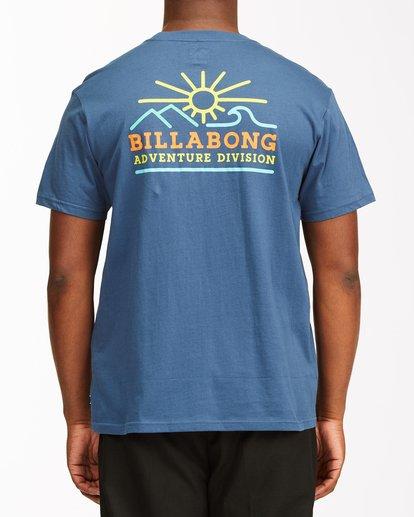 2 Hills Short Sleeve T-Shirt Blue ABYZT00544 Billabong