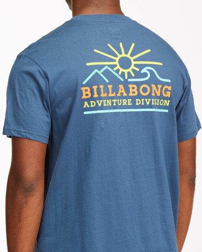 3 Hills Short Sleeve T-Shirt Blue ABYZT00544 Billabong