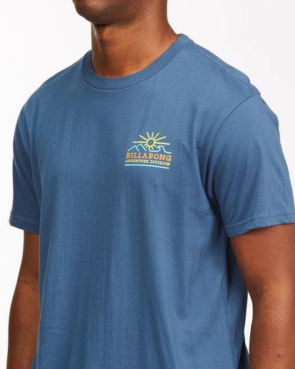 4 Hills Short Sleeve T-Shirt Blue ABYZT00544 Billabong