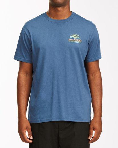 0 Hills Short Sleeve T-Shirt Blue ABYZT00544 Billabong