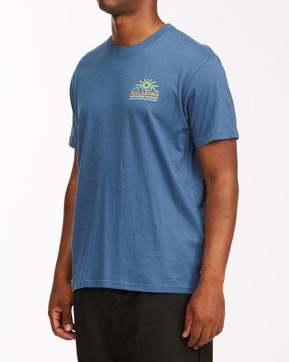 1 Hills Short Sleeve T-Shirt Blue ABYZT00544 Billabong