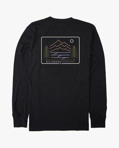 6 Hwy 101 Long Sleeve T-Shirt Black ABYZT00545 Billabong