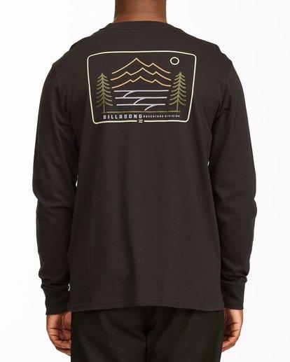 2 Hwy 101 Long Sleeve T-Shirt Black ABYZT00545 Billabong