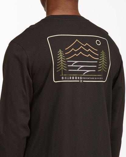 3 Hwy 101 Long Sleeve T-Shirt Black ABYZT00545 Billabong