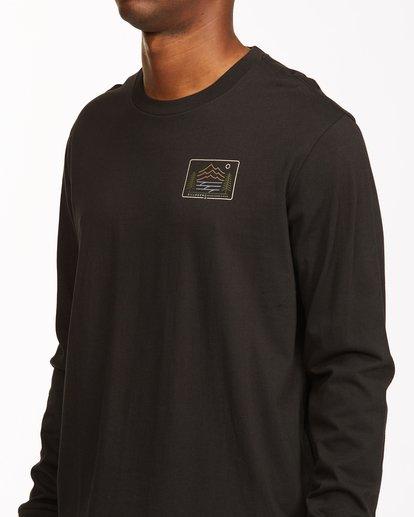 4 Hwy 101 Long Sleeve T-Shirt Black ABYZT00545 Billabong