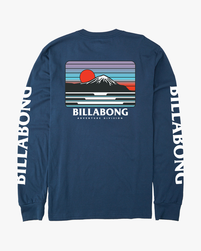 7 A/Div Lines Long Sleeve T-Shirt Blue ABYZT00546 Billabong