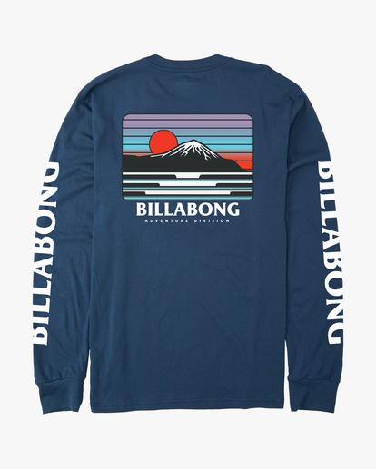 7 A/Div Lines Long Sleeve T-Shirt Blue ABYZT00546 Billabong