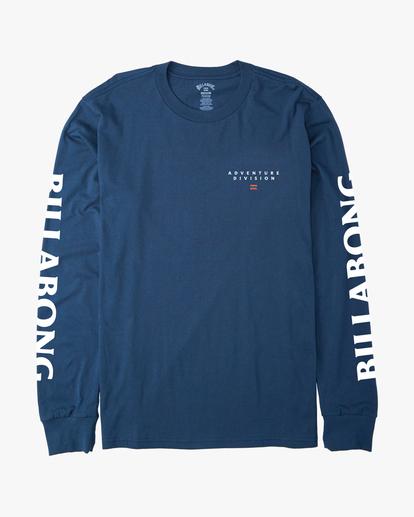6 A/Div Lines Long Sleeve T-Shirt Blue ABYZT00546 Billabong