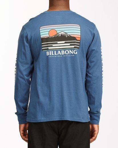 3 A/Div Lines Long Sleeve T-Shirt Blue ABYZT00546 Billabong