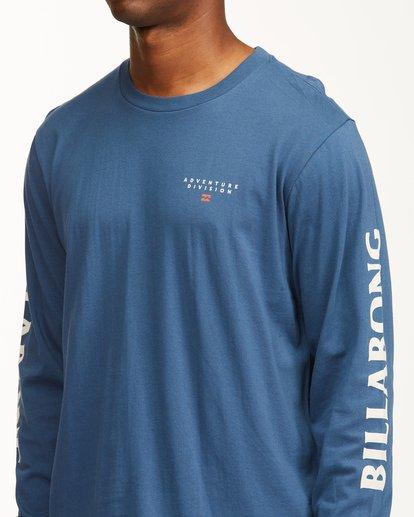 5 A/Div Lines Long Sleeve T-Shirt Blue ABYZT00546 Billabong