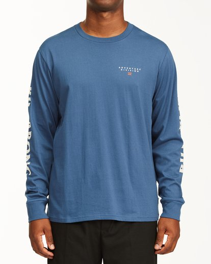 0 A/Div Lines Long Sleeve T-Shirt Blue ABYZT00546 Billabong
